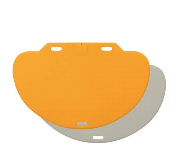REVIVA für Menschen mit Demenz – Bircher - CareMat C - Demenz-Alarmtrittmatte – Sicherheit und Wegläuferschutz auf Schritt und Tritt - gelb
