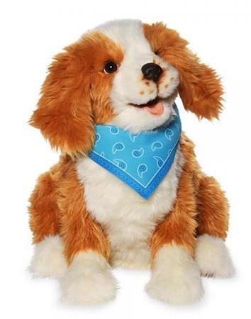 Interaktiver Hund, Roboter-Hund für Senioren und Menschen mit Demenz. Lebensecht, realitätsnah