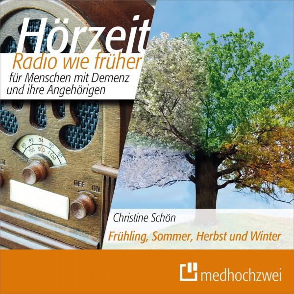 REVIVA medhochzwei Hörzeit Radio wie früher für Menschen mit Demenz – Frühling, Sommer, Herbst und Winter