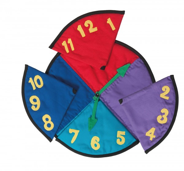 REVIVA für Menschen mit Demenz – Suprima - Legespiel Uhr – Die Uhr stimuliert beim Spielen den Tastsinn.
