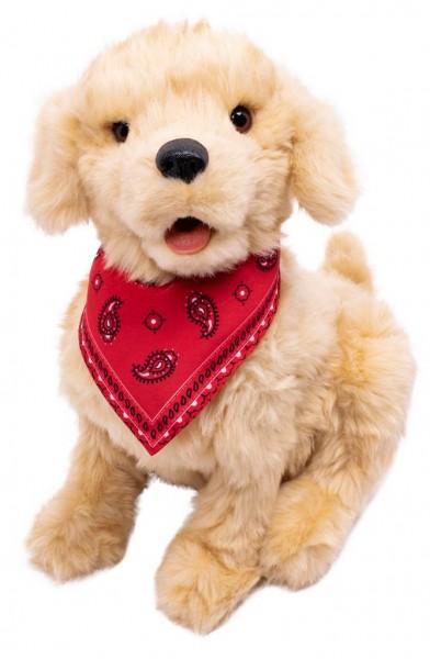 Interaktiver Hund, Roboter-Hund für Senioren und Menschen mit Demenz. Lebensecht, realitätsnah.